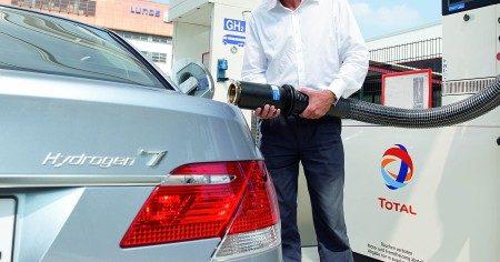 BMW Hydrogen 7 - grote slurf