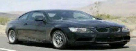 BMW M3 spyvideo