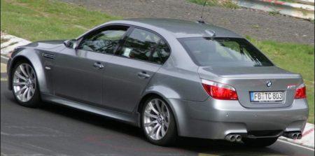 BMW M5 mule voor BMW Z6 of Panamera