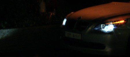 BMW M5 koplampen