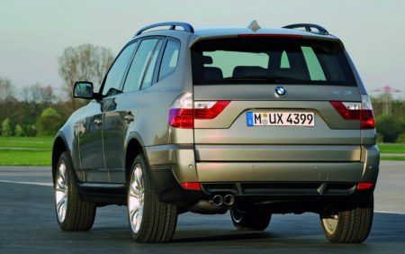 BMW X3 facelift