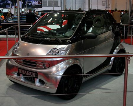 Brabus Smart: Alu Look