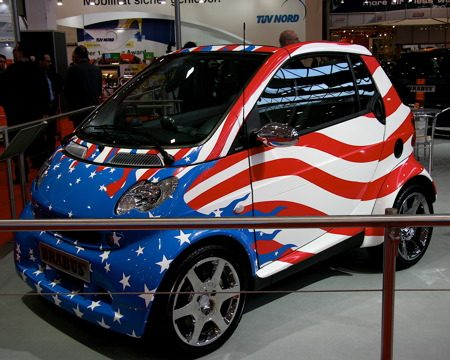 Brabus Smart: We Love USA!