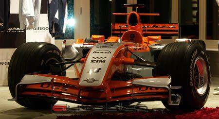 F1 bolide Christijan Albers