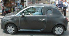 Fiat 500 spyshot