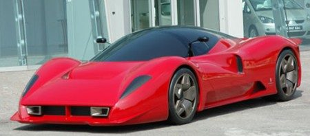 Ferrari P4/5 by Pininfarina: The Glickenhaus car