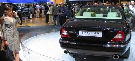 Jaguar XJR Superportfolio with chick!