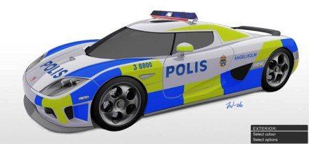 Zweden Willen Koenigsegg Politiewagen Autoblog Nl