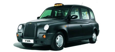 LTI TX4 Taxi Londen
