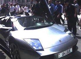 Lamborghini Murcielago 50 Cent chroom