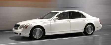 Maybach 57 S wit