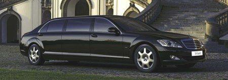 Mercedes S600 Guard Pullman