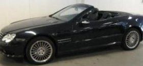 Mercedes SL500 Guus Hiddink