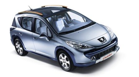 peugeot in actie 207 rc en 207 sw outdoor. Black Bedroom Furniture Sets. Home Design Ideas