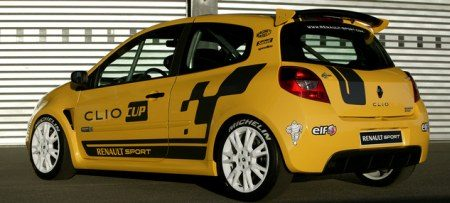 Renault Clio Cup achter
