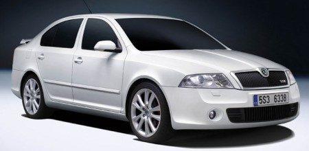 Skoda Octavia RS diesel wit