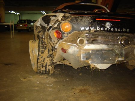 Spyker Crash