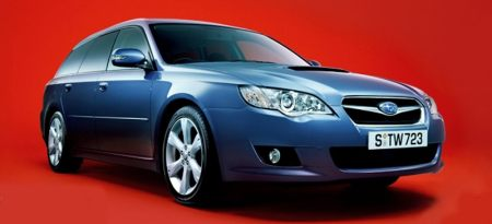 Subaru Legacy station facelift