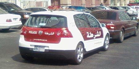 Volkswagen Gof Politie Dubai