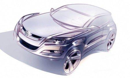 Volkswagen Tiguan schets