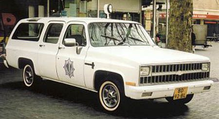 1981 Chevrolet C10 Politie Rotterdam
