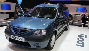 Dacia Logan in Parijs