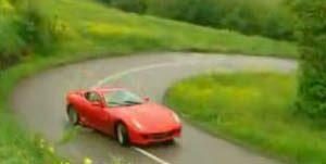 Ferrari 500 GTB Fiorano drift