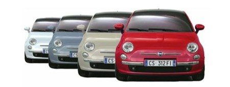 Fiat 500 gelekt
