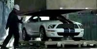 Ford Shelby GT500 commercial