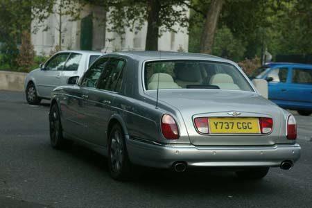 Bentley Arnage Red Label - foto Jim Appelmelk