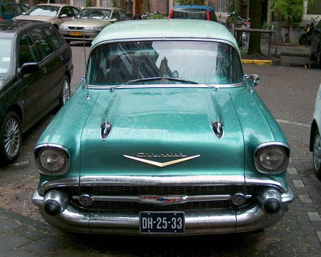 Chevolet Bel Air Sedan '56 - Foto Jim Appelmelk