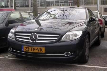 Mercedes-Benz CL 600 C-216 - Foto Jim Appelmelk