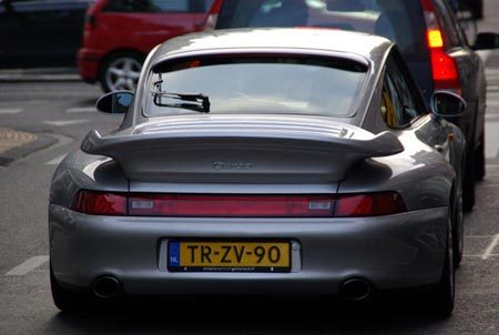 Porsche 993 Turbo - Foto Jim Appelmelk
