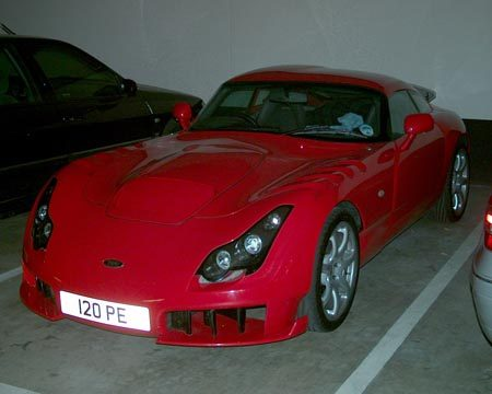 TVR Sagaris - Foto Jim Appelmelk