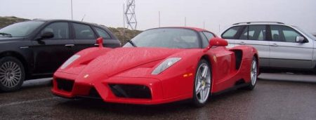 Ferrari Enzo gespot in Zandvoort