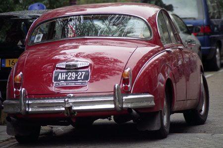 Daimler 340 V8 - Valentijnsdag met Jim Appelmelk
