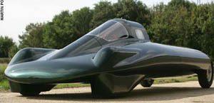 Green Machine steam car