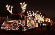 Kerstboom truck