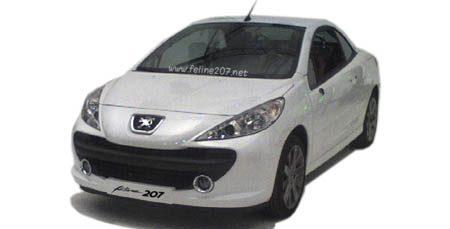 Peugeot 207 CC spyshot