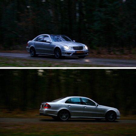 Mercedes-Benz E63 AMG in actie
