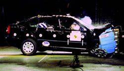 Skoda Octavia crashtest
