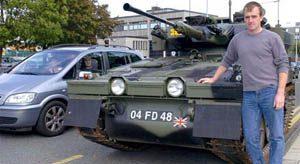Tank for public transportation