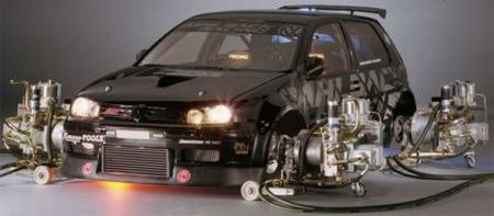 volkswagen golf dahlback racing