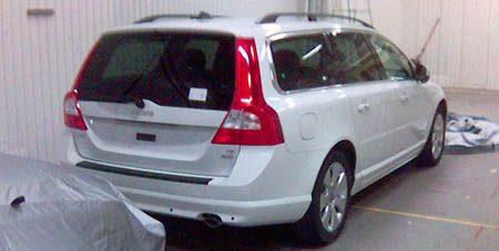 2008 Volvo V70 Spyshot