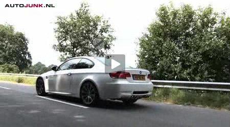 BMW M3 rijtest