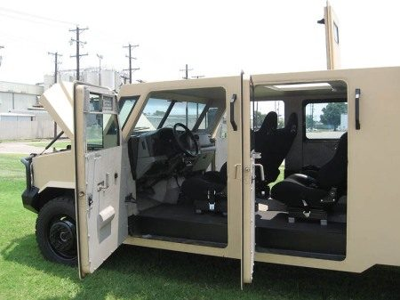 F550 armored vehicle