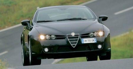 Alfa Romeo Brera nero
