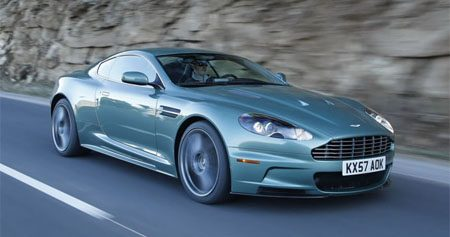 Aston Martin DBS Racing Green