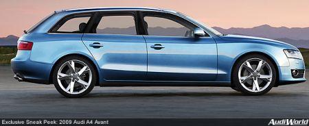 Audi A4 Avant (2009)