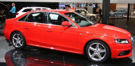 Audi A4 in Frankfurt